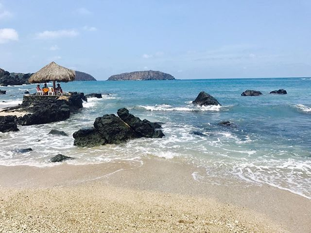 A table with a view!#bestbeach#zihua#ixtapaisle