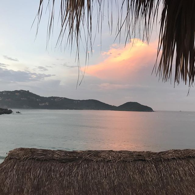 Sunrise Zihuatanejo Bay