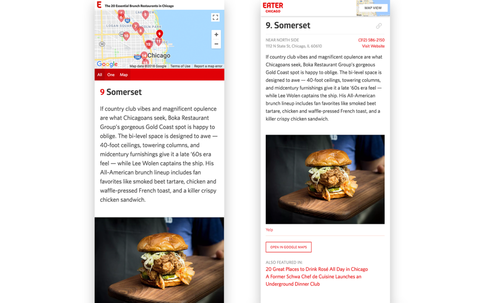 Before/After: Mobile Recommendations