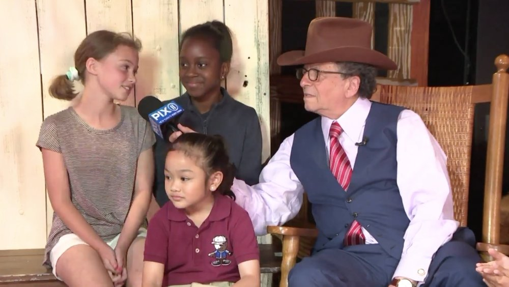 WPIX11 - Mr. G from WPIX 11 visits the students of Young at Arts on the set of Oklahoma! and Hee Yaa!Watch what happens!