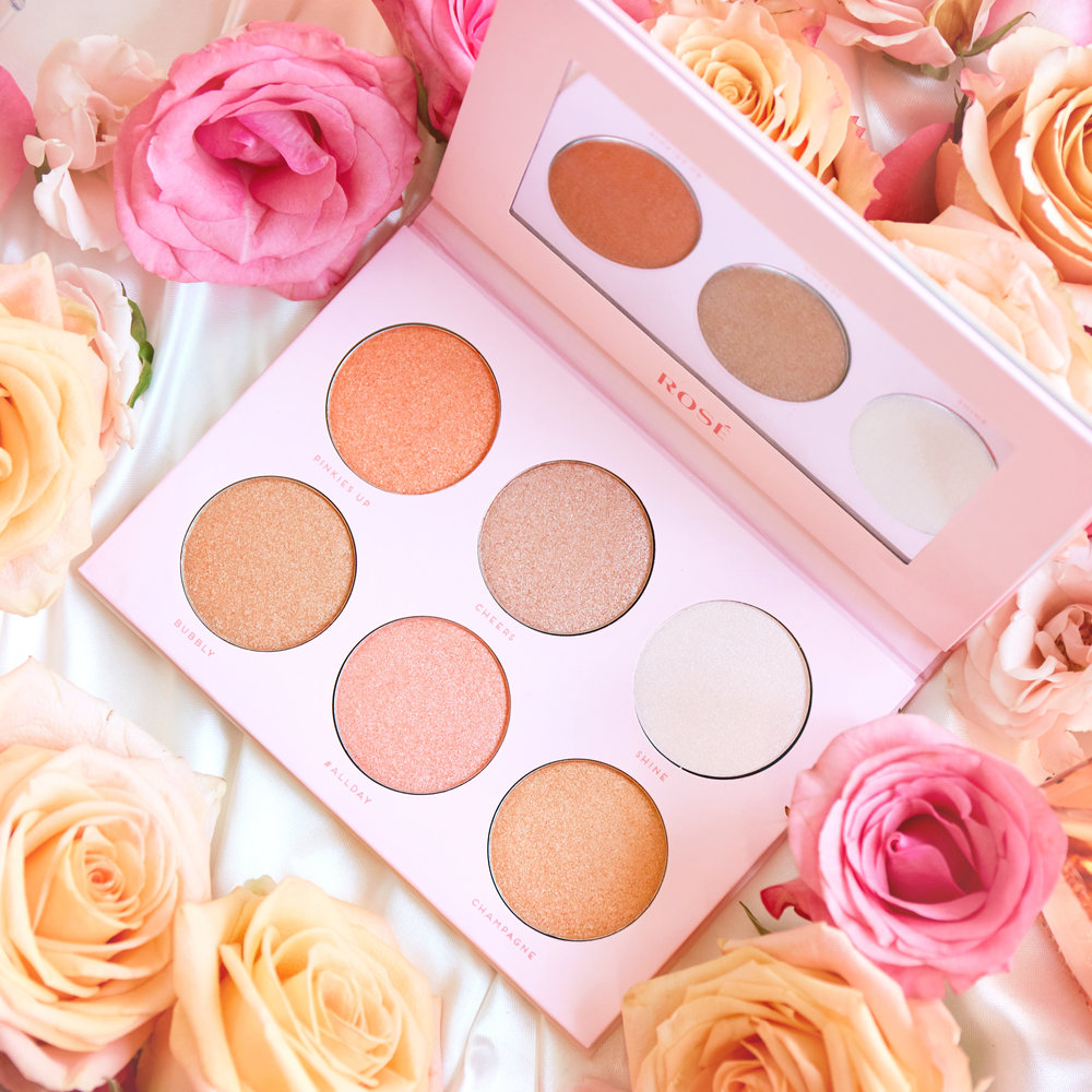 Rosé   - $10Introducing Rosé — this six-color highlight collection features an exclusive formula that is creamy, intensely luminous, and easy to blend. The shimmery gold and pinks tones of Rosé celebrate our favorite summer sip.Cruelty-free  /  IngredientsAvailable at select boutiques and online at Hush.