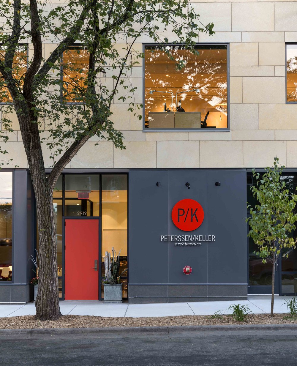 The P/K studio in Uptown, Minneapolis