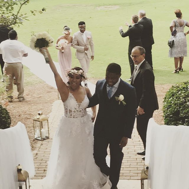 The feeling you get when you marry your soulmate. Simply elegant union.  I really enjoyed the planning, designing and the execution of the simply elegant wedding. Meet the Manzila's!! #ilovemyclients #eventplanninganddesign #atlweddingplanner #atlweddingdesigners #gwinnettweddingprofessionals #gwinnettweddingplanner #gwinnettweddingdesigner #