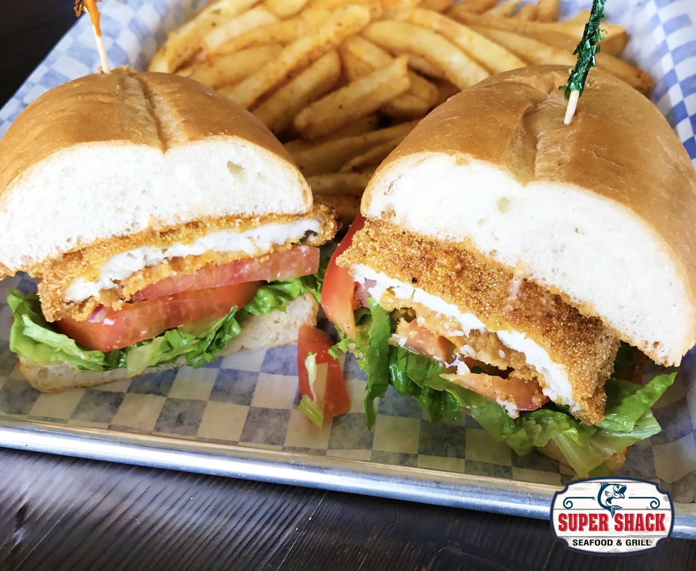 Super Shack Seafood & Grill - We specialize in fresh and quality seafood as well as deliciously robust sandwiches, tasty soups, ice cold beverages & more.