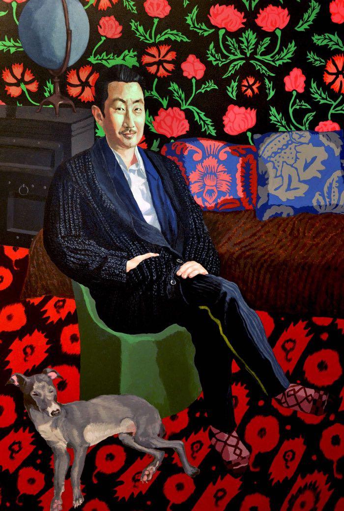 Portrait of Juno Youn and Lloyd