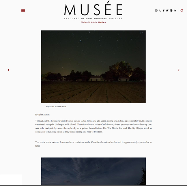 MUSEE MAGAZINE by Tyler Austin May 1, 2017