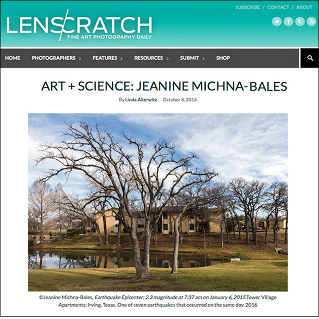 LENSCRATCH by Linda Alterwitz October 8, 2016