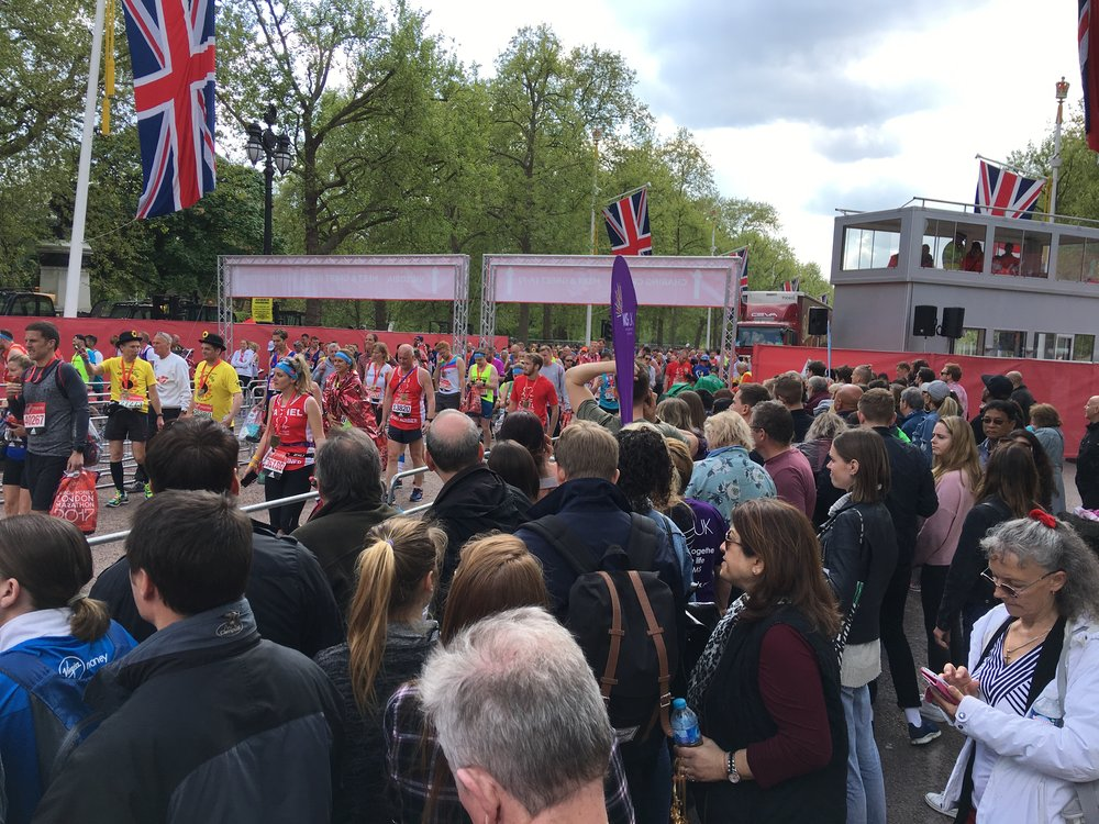 Finish Line - Horseguard's Parade -LM2017