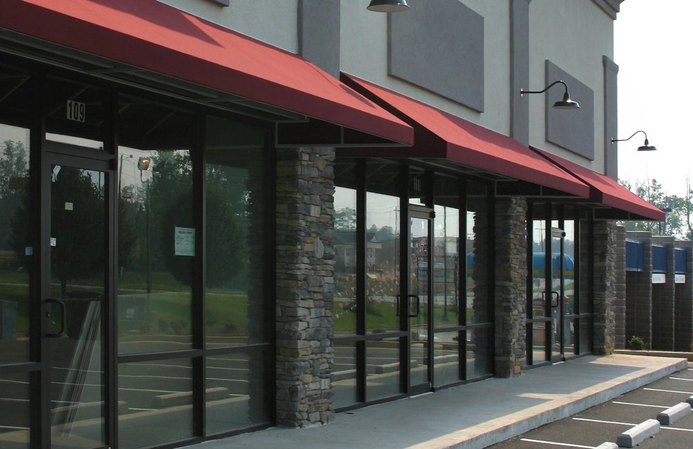 aluminum frame storefront