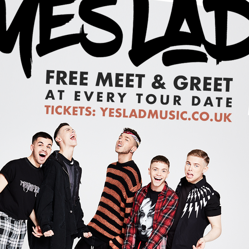 Meet us on tour yes lad official website want to meet us on tour were doing a free meet and greet at every tour date across the uk tickets are just 6 and available now at yesladmusic uktour m4hsunfo