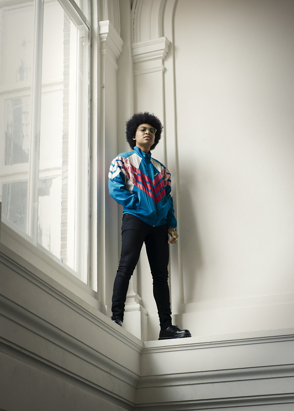 Tevin Raynor. Styling Ace Willow