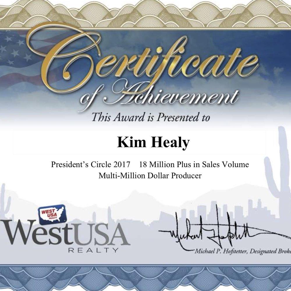 Kim Healy _MultiMillion Dollar Producer_2017.jpg