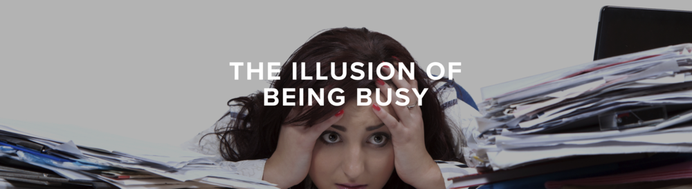 The illusion of being busy