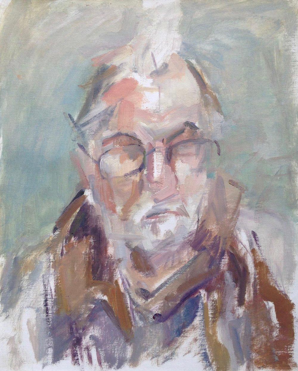 "John , oil on canvas, 20"" x 16"", 2017"