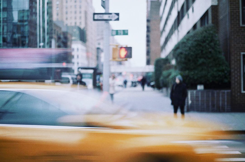 Manhattan on film. January, 2018. / Brianna Spause