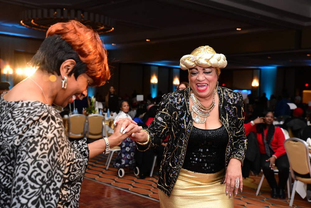 Philadelphia Parks & Recreation and the Care Givers of America hosted the 22nd annual Senior Holiday Gala at the Philadelphia Mariott grand ballroom on December 18, 2018. Brianna Spause / Philadelphia Parks & Recreation