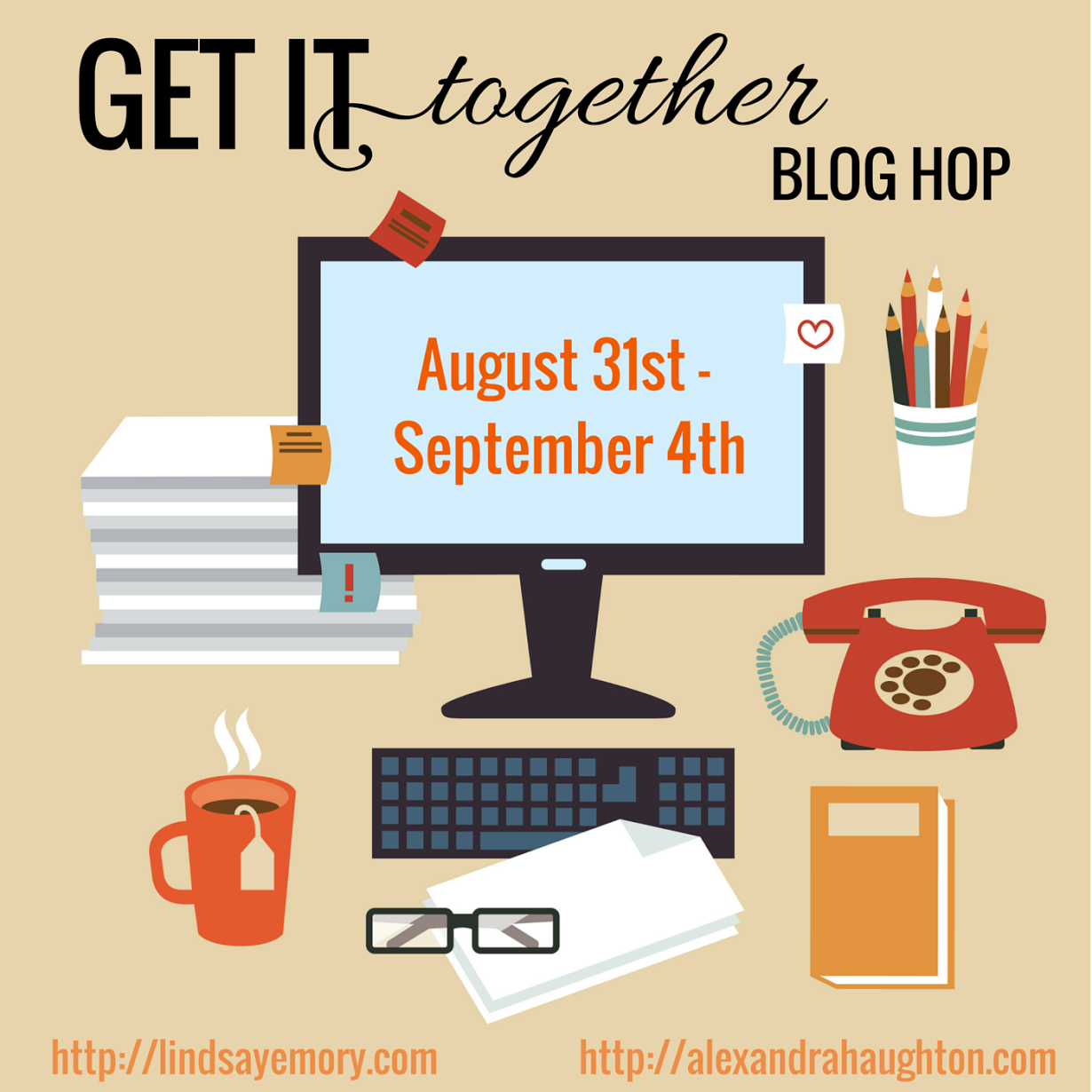 Get It Together Blog Hop Graphic big