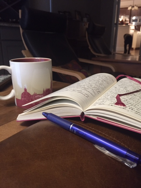 Tea & morning pages - my ritual.
