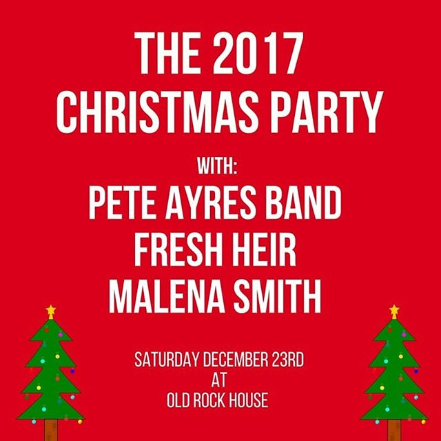 #this #week #christmas #show with @peteayresband and @malenasmithmusic #christmas #show @oldrockhousestl #holiday #8thannual #christmastree #stl #midwest #stlouis #livemusic #original #believe #dreams #ambition #blindspots #rise #ohwhatataday