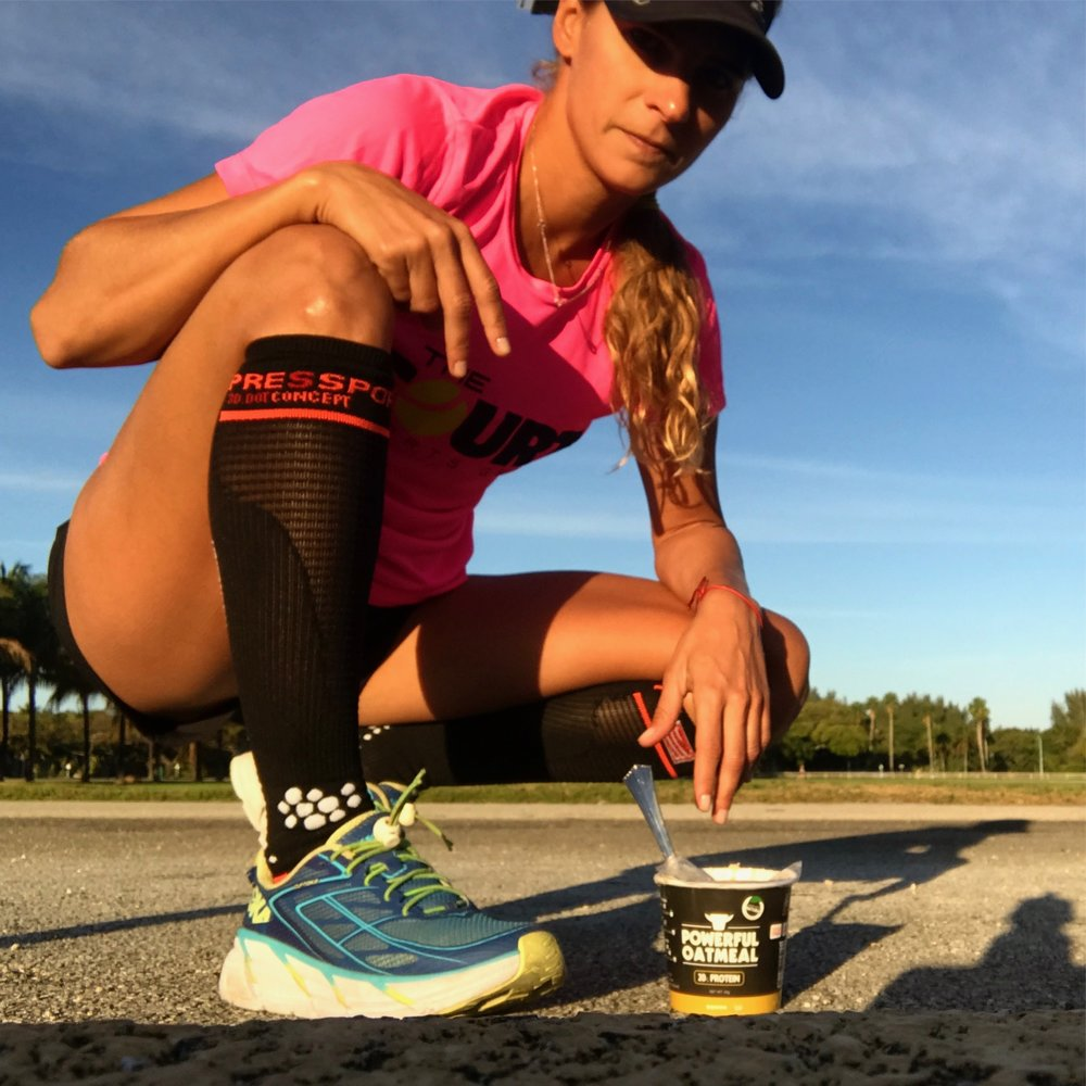 Fueling the team with their Powerful Yogurts, Oatmeal and Recovery drinks -  USE CODE: 101TRAININGAT CHECKOUT BELOW FOR 20% DISCOUNT