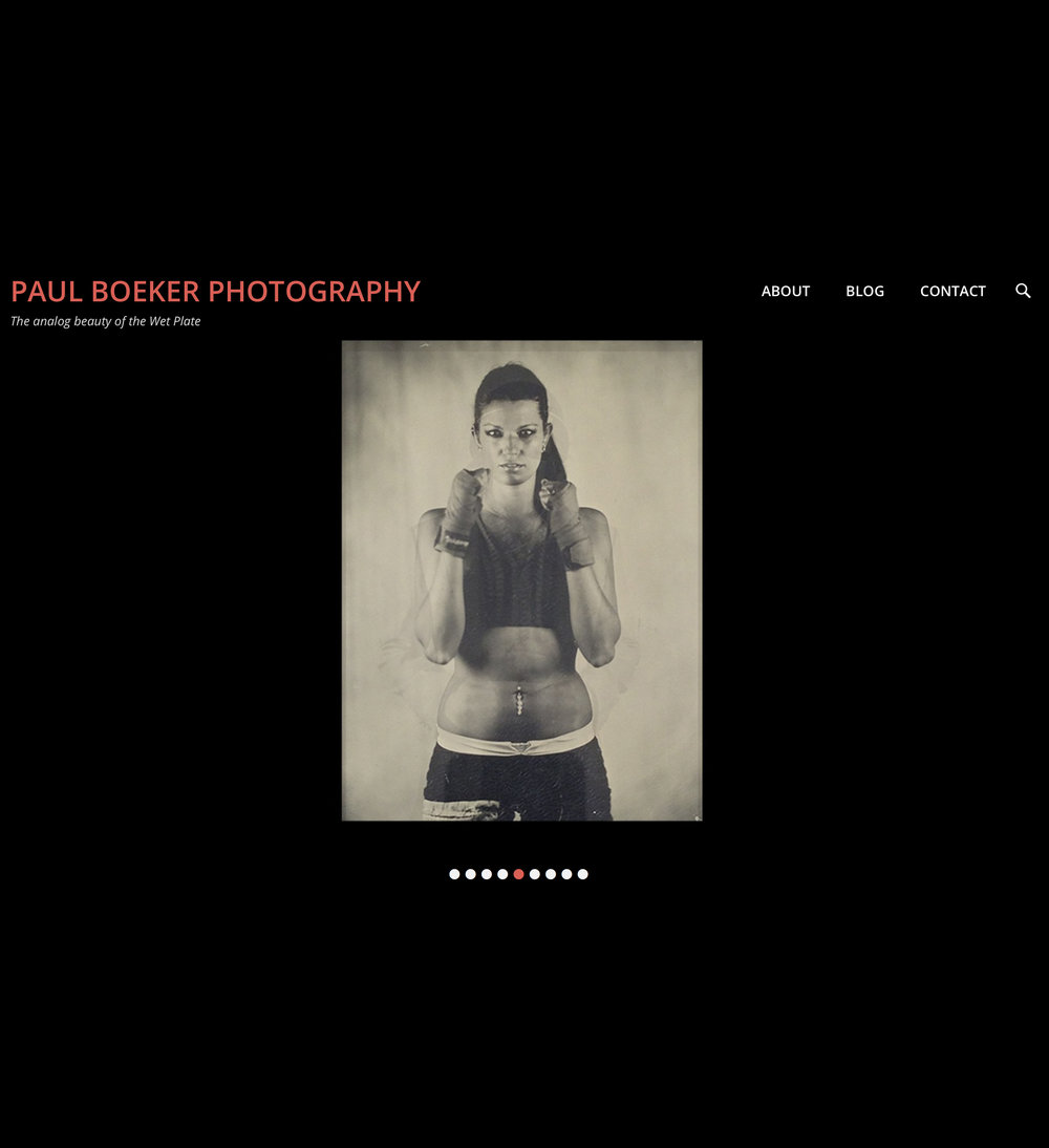 Site by Carolyn Crist for Paul Boeker