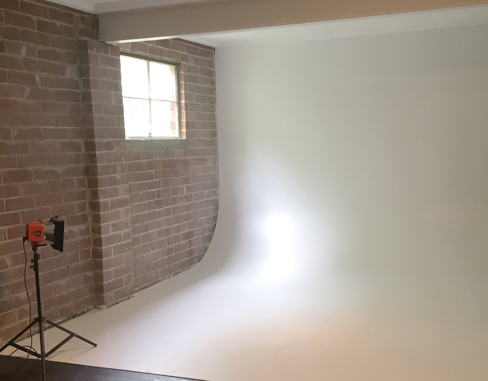 Upstairs studio available
