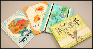 All Occassion Cards - thursDAY, june 21 • 10:30AM or 6:00 PM • $25You'll create these beautiful cards using stamps and dies from Hero Arts, Penny Black, and more. A little watercolor and Oxide Inks complete the package.