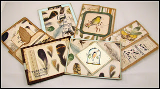 Nature's Beauty Cards - thursday, july 12 • 10:30aM or 6:00PM • $30Kaisercraft's new paper collection called
