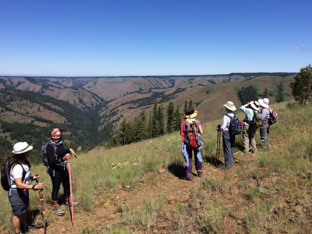 Umatilla Ridge trail. Photo from  Umatilla Rim: Shaking up our World View