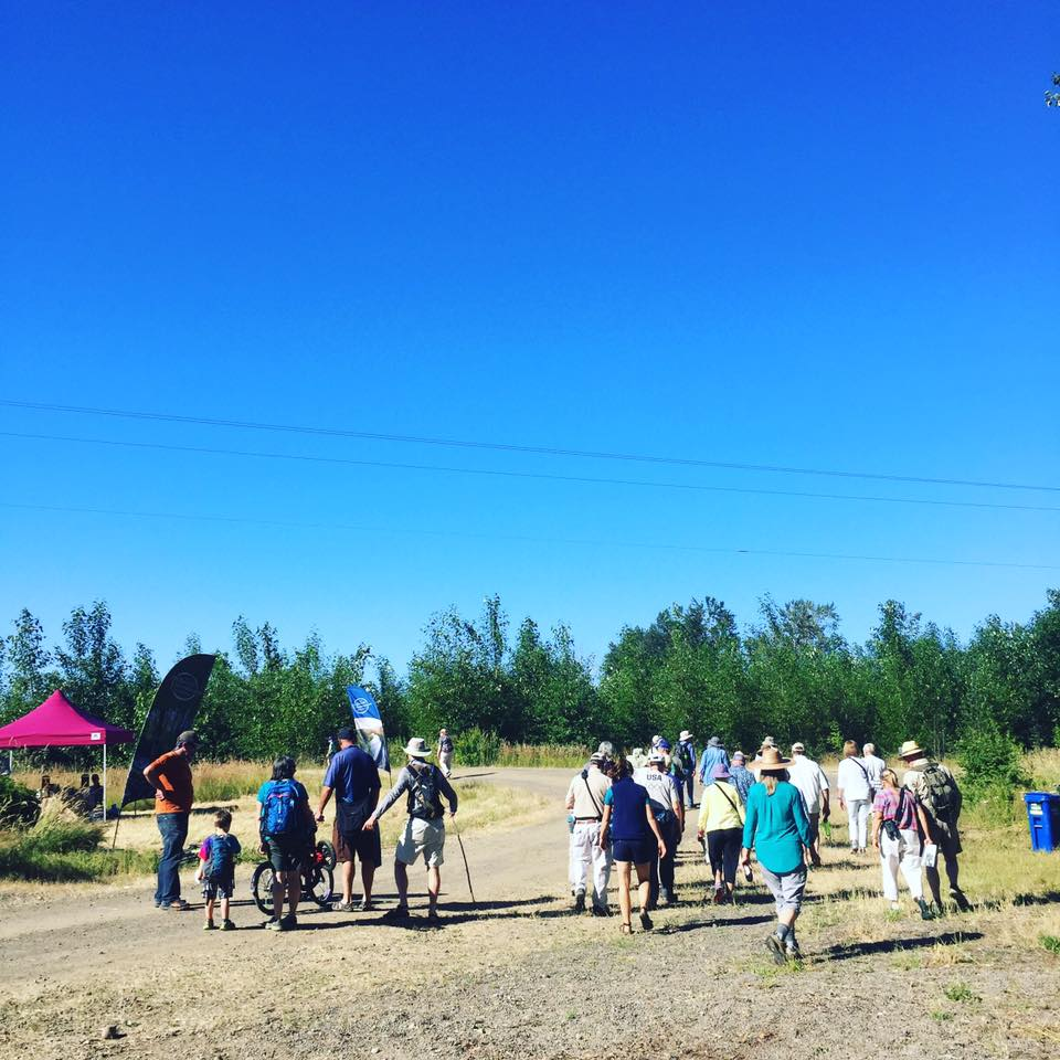 \McKenzie River Trust - Green Island Walk the Land Day