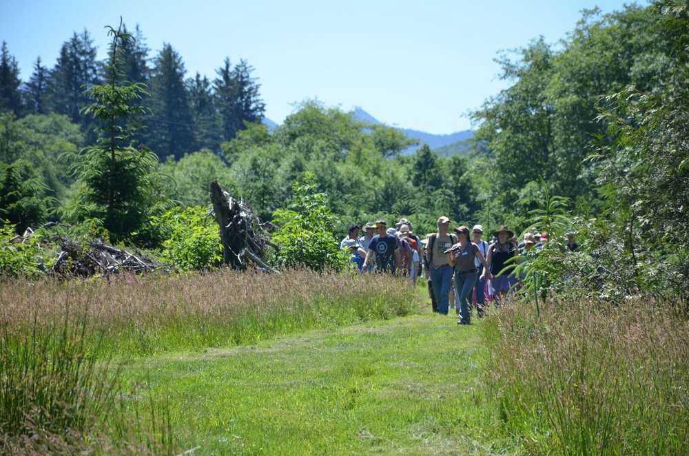 North Coast Land Conservancy - Circle Creek hike