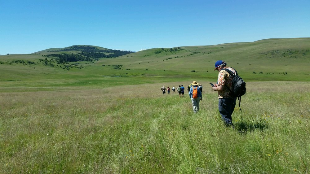 Wallowa Land Trust and The Nature Conservancy - Zumwalt Prairie hike