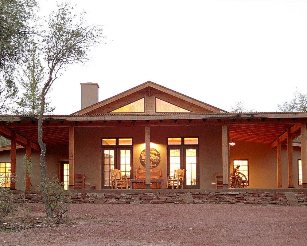 Straw-Bale House - Payson, ArizonaResidential