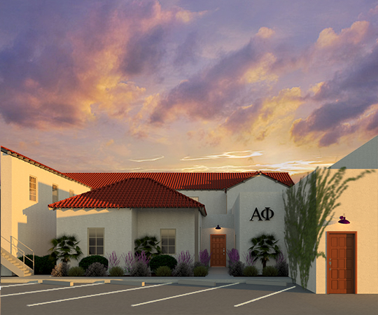Alpha Phi Sorority Renovation - Tucson, ArizonaResidential