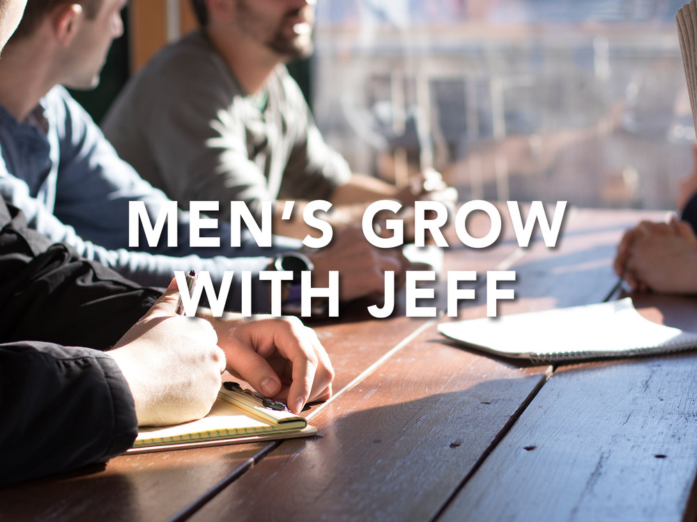 Bible study for men of all ages.