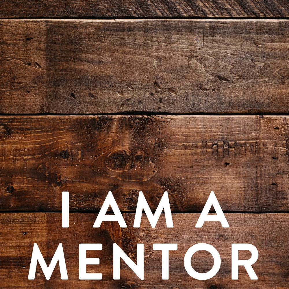 I am a mentor