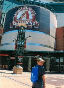 Jared @ Chase Field, Phoenix