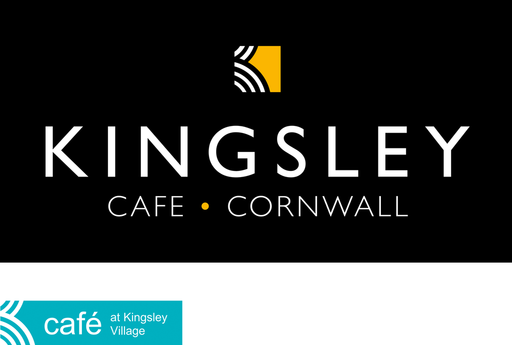 We couldn't abandon the original Kingsley Village stylised K mark so we worked to make it better. The addition of Cornish gold made it reminiscent of a beach lapped with waves. And the use of Gill Sans caps calls to mind vintage Great Western Railway posters and the feeling of having 'arrived'.