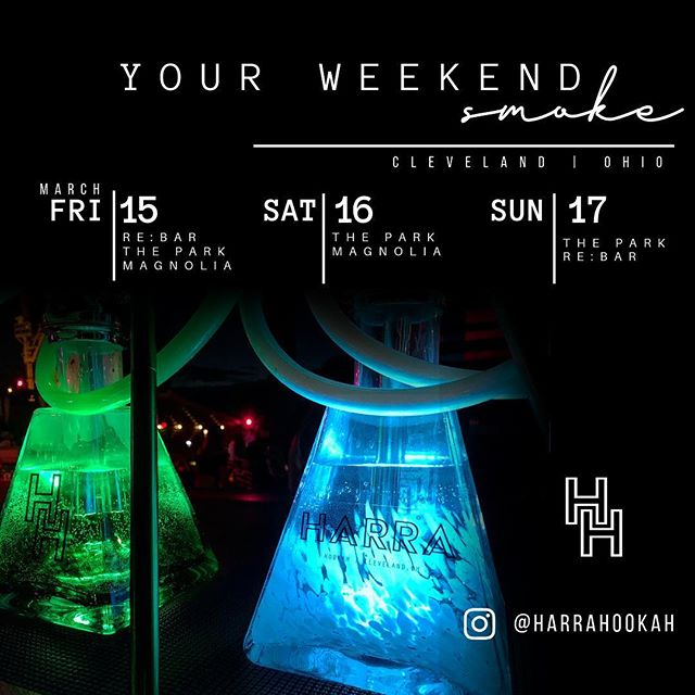 Who is ready for the weekend?! Cleveland, we got you covered. Come check us out at the following night clubs!  #thingstodoincleveland #clevelandhookah #hookahsmoke #hookah #clevelandevents #nightlife #nightclub #hookahlife #music #vibes #thisiscle #party