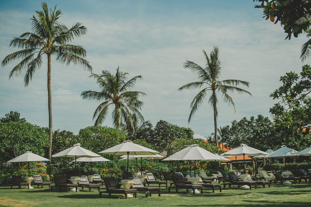 Location  - Nusa Dua is approximately 25 mins from the airport and home to the most gorgeous white sands in Bali. You'll also find a variety of luxurious spas and salons to pamper you!