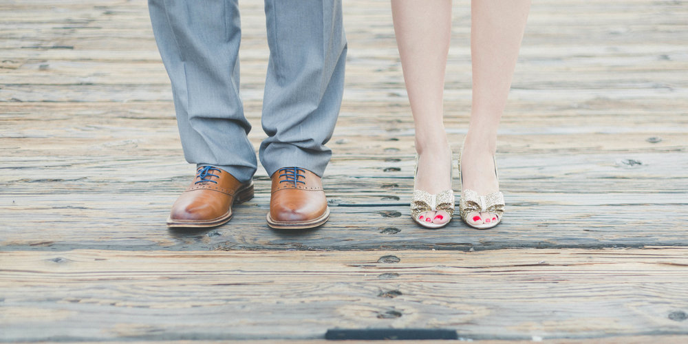 Wedding planner, side by side shoe shot of couple on wedding day.jpg