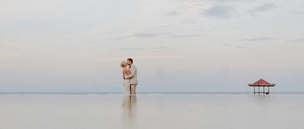 Inclusive wedding packages - So you can relax and enjoy yourself.