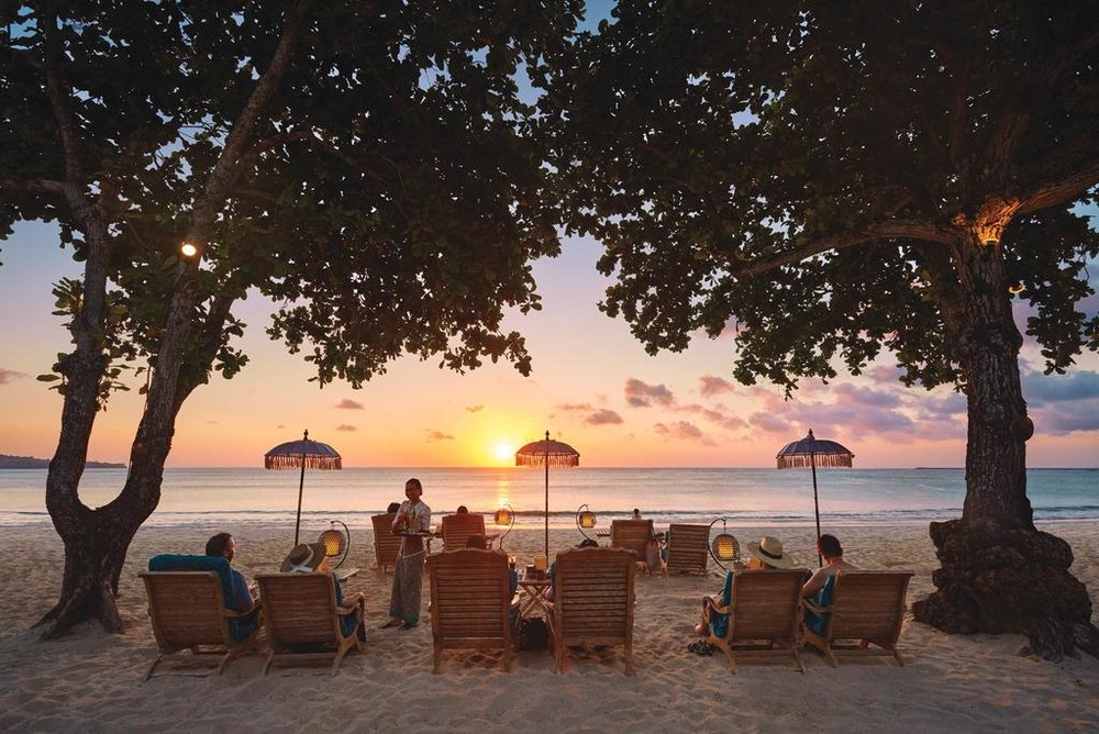 Location - Jimbaran is one of Bali's most sought-after locations famous for it's white sandy beaches, sunset ocean views and beautiful resorts.