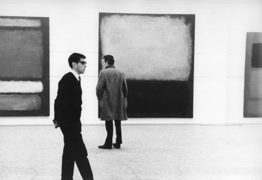 Rothko Exhibit at the Whitechappel Gallery, 1961 by  Sandra Lousada
