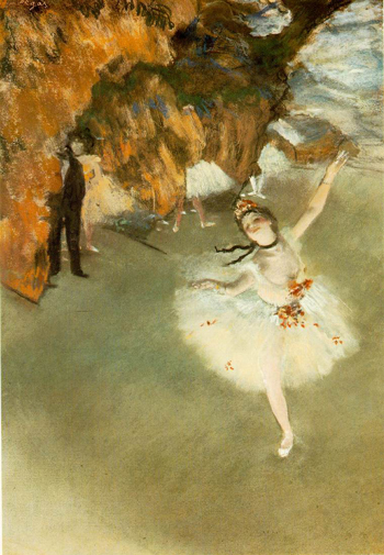 Star Dancer by Degas