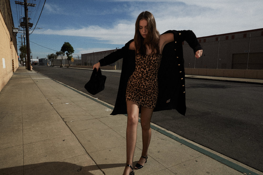 Reformation leopard print dress frame denim velvet coat holiday fashion