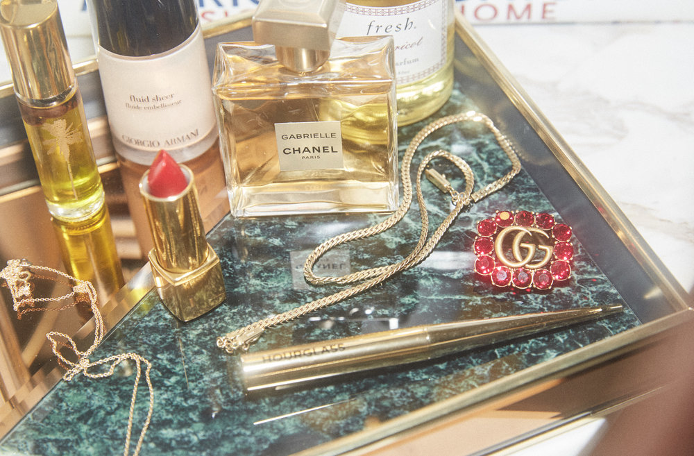 Gucci Sugarpill cosmetics beautylish vanity west elm target home anthropologie