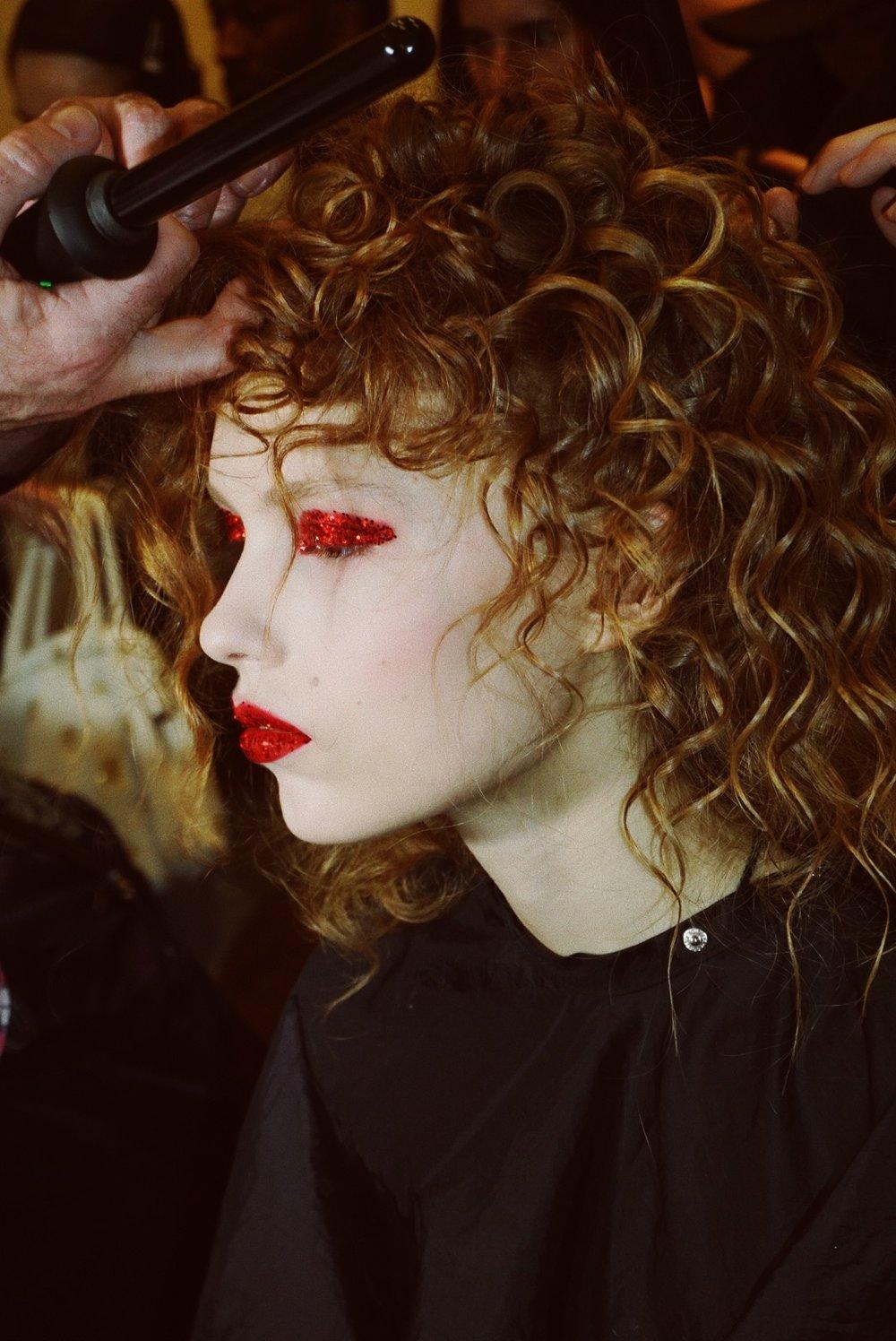 Rodarte beauty backstage fall winter 2019 NYFW Nars Sultra los Angeles Madison Chertow