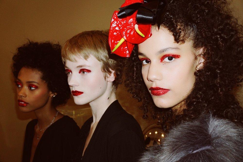 Rodarte beauty backstage fall winter 2019 NYFW Nars Sultra los angeles