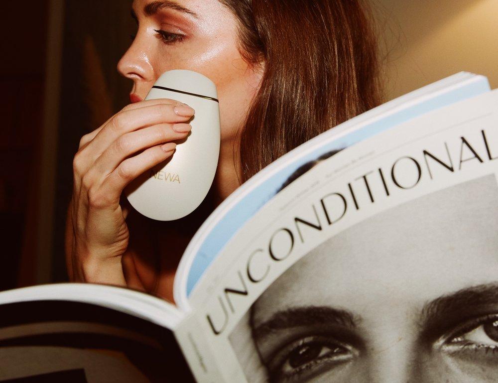 NEWA device contouring anti aging skincare wellness beauty Madison chertow